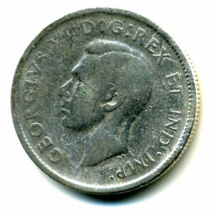 1943 CANADIAN QUARTER SILVER 25 CENT SHARP ABOVE AVERAGE DETAIL CANADA COIN4266
