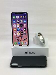 APPLE IPHONE X A1865 64GB SPACE GRAY  CLEAN IMEI  WORKS ON GSM NETWORKS