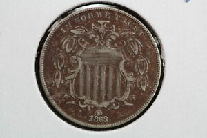 1868 SHIELD NICKEL 0GQP