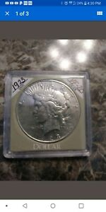 1923 S PEACE DOLLAR   CIRCULATED CONDITION