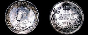 Click now to see the BUY IT NOW Price! 1929 CANADA 10 CENT WORLD SILVER COIN   CANADA   GEORGE V