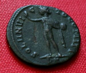 Click now to see the BUY IT NOW Price! GENUINE  ROMAN COIN 313AD CONSTANTINE I FOLLIS SOL TICINUM