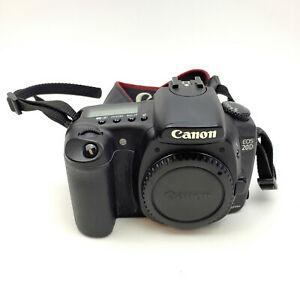 CANON EOS 20D 8.2 MP DIGITAL SLR CAMERA   BLACK  BODY ONLY  EXCELLENT CONDITION