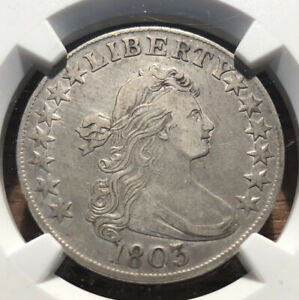 1803 HALF DOLLAR NGC XF DETAILS CLEANED