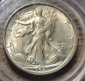 Click now to see the BUY IT NOW Price! 1920 S WALKING LIBERTY HALF DOLLAR PCGS MS 64  SERIES:45  COIN: 15