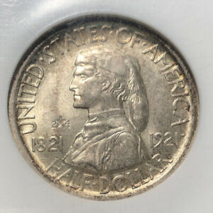 Click now to see the BUY IT NOW Price! 1921  2 4  SILVER COMMEMORATIVE MISSOURI HALF DOLLAR NGC MS 65