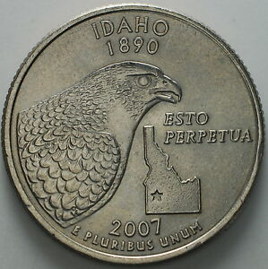 1999 2009 USA STATE QUARTER DOLLAR 'IDAHO '