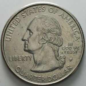1999 2009 USA STATE QUARTER DOLLAR 'PENNSYLVANIA'