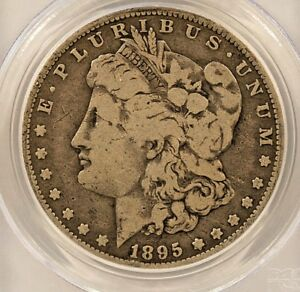 1895 O MORGAN DOLLAR PCGS 10