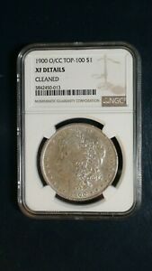 1900 O/CC MORGAN SILVER DOLLAR NGC XF CIRCULATED BETTER DATE $1 COIN BUY IT NOW