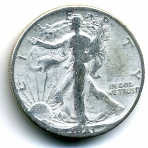 1941 P WALKING LIBERTY HALF DOLLAR KEY DATE SILVER 50 CENT FACE COIN U.S 103196