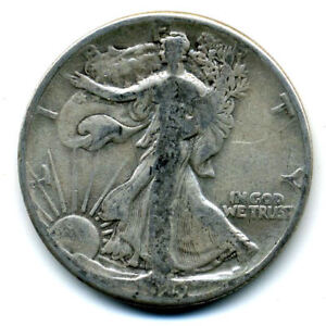 1941 P WALKING LIBERTY HALF DOLLAR KEY DATE SILVER 50 CENT FACE COIN U.S 103167