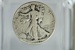 1947 D WALKING LIBERTY HALF DOLLAR     NICE   M 729