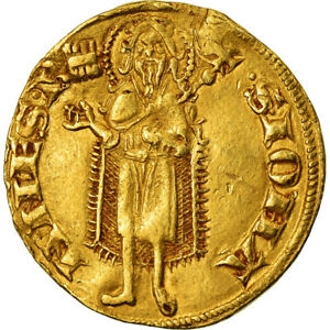 [488786] MNZE ITALIEN STAATEN TUSCANY FLORIN FLORENCE SS GOLD
