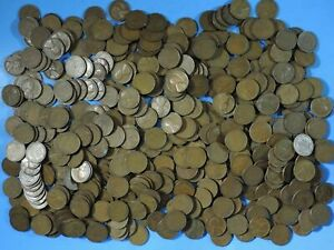 300 LINCOLN CENTS WHEAT PENNIES 1930 1934 1939 ALL MINTS 6 ROLLS