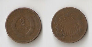 USA 2 CENTS 1868
