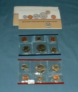 1986 U.S. MINT SET   10 COINS
