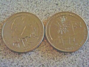 2 COINS  2013 S  UNCIRCULATED/BU  ATB QUARTER US QUARTER DOLLAR