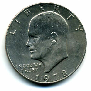 NICE 1978 P EISENHOWER DOLLAR CHOICE BRILLIANT UNCIRCULATED MINT STATE COIN4935