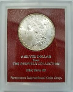 1897 MORGAN DOLLAR REDFIELD COLLECTION HOARD MS PEDIGREE PARAMOUNT TONED TONER