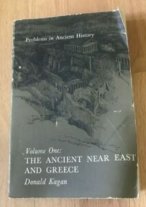 Click now to see the BUY IT NOW Price! PROBLEMS IN ANCIENT HISTORY: NEAR EAST & GREECE BY DONALD KAGAN   PRINTED 1967