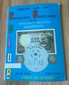 Click now to see the BUY IT NOW Price! CATALOGO UNIFICADO DE LAS MONEDAS Y BILLETES ESPANOLES BY CAYON & CASTAN