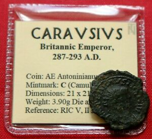 Click now to see the BUY IT NOW Price! GENUINE ROMAN COIN 293AD CARAUSIUS ANTONINIANUS PAX CAMULODUNUM