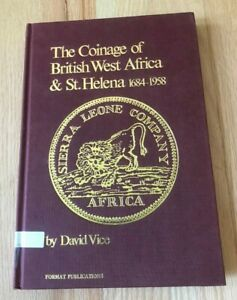 Click now to see the BUY IT NOW Price! THE COINAGE OF BRITISH WEST AFRICA & ST HELENA 1684 1958 BY DAVID VICE   1983