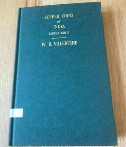 Click now to see the BUY IT NOW Price! COPPER COINS OF INDIA PARTS I AND II BY WH VALENTINE   PRINTED 1971