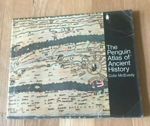 Click now to see the BUY IT NOW Price! THE PENGUIN ATLAS OF ANCIENT HISTORY BY COLIN MCEVEDY   PRINTED 1970