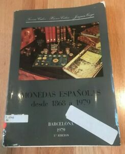 Click now to see the BUY IT NOW Price! MONEDAS ESPANOLAS DESDE 1868 A 1979   3RD EDITION   PRINTED 1979
