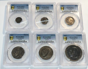 Click now to see the BUY IT NOW Price! 1927 GREAT BRITAIN PROOF SET  3D 6D SHILLING FLORIN 1/2 CROWN CROWN PCGS