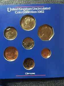 UNITED KINGDOM 1982 ROYAL MINT UNCIRCULATED COIN COLLECTION