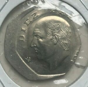 Click now to see the BUY IT NOW Price! 1980S MEXICO 10 PESOS OFF CENTER ERROR   UNCIRCULATED