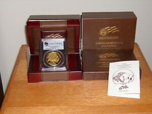 Click now to see the BUY IT NOW Price! ST OF 2008 W GOLD US $50 BUFFALO PCGS PR70 DCAM FIRST STRIKE W/BOX COA