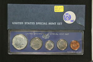Click now to see the BUY IT NOW Price! 1967 SPECIAL MINT SET W/ DOUBLE DIE OBVERSE WASHINGTON QUARTER
