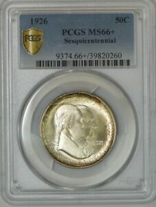 Click now to see the BUY IT NOW Price! 1926 SESQUICENTENNIAL 50C MS66  PCGS SECURE 938855 94   FINEST KNOWN