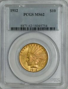 1912 $10 GOLD INDIAN MS62 PCGS 943255 7