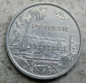 FRENCH POLYNESIA 2006 2 FRANCS COIN