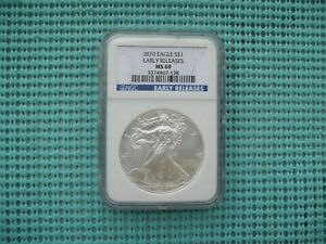 2010 SILVER EAGLE NGC EARLY RELEASES MS69