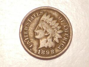 1898 INDIAN HEAD CENT  ATTRACTIVE
