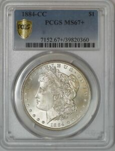 Click now to see the BUY IT NOW Price! 1884 CC MORGAN DOLLAR $ MS67  PCGS SECURE 942872 1
