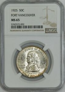 1925 FORT VANCOUVER 50C MS65 NGC 943089 23