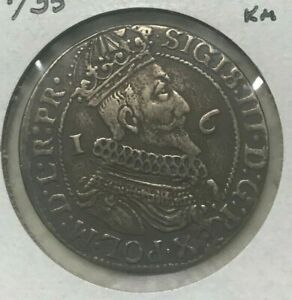 Click now to see the BUY IT NOW Price! 1624/35 POLAND DANZIG ORT  1/4 THALER    NEAT 17TH CENTURY SILVER
