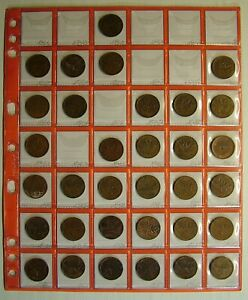 1946   1985 CANADA 1 CENT 33 COINS