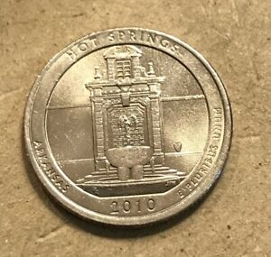2010 P HOT SPRINGS WASHINGTON QUARTER