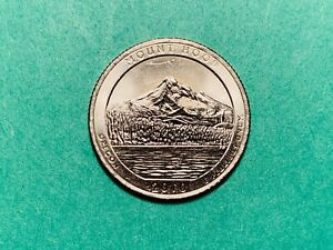 2010 D AMERICA THE BEAUTIFUL MT HOOD QUARTER VG EX CIRCULATED SHIPS FREE