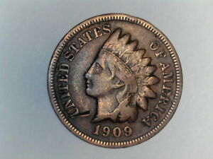 1909 S INDIAN HEAD CENT   NICE LOOKING COIN   KEY TO THE SET  LOT 1025 002