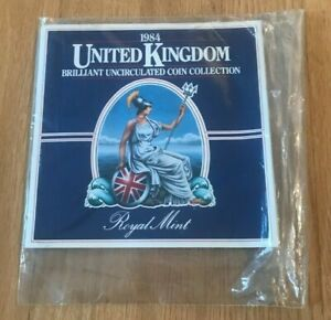 Click now to see the BUY IT NOW Price! 1984 GREAT BRITAIN UNITED KINGDOM BRILLIANT UNCIRCULATED COIN COLLECTION   MINT