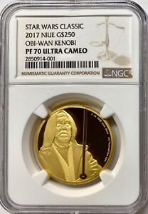 Click now to see the BUY IT NOW Price! 2017 NIUE 1OZ GOLD STAR WARS OBI WAN NGC PF70 UCAM